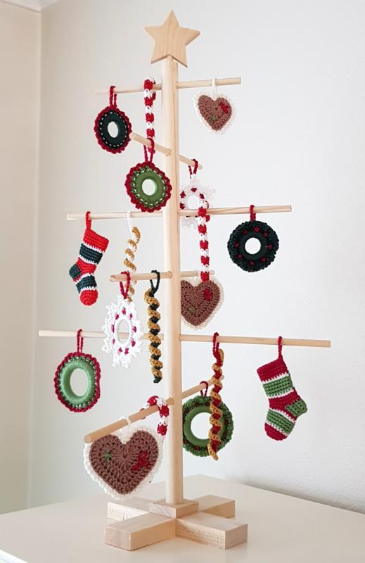 Creahuys 41 Kersthangers haakpakket