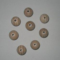 Blank houten kralen