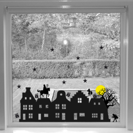 Sint raamsticker  | Studio Eeke