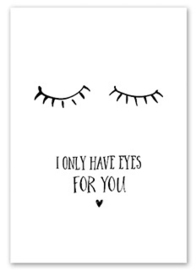 Kaart Only have eyes for You  | Jots