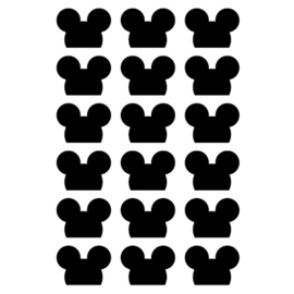 Muurstickers Mouse  |  Huusje