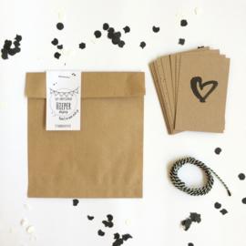 DIY Slinger mini kaartjes  |  Hieperdepiep  |  Miek in Vorm