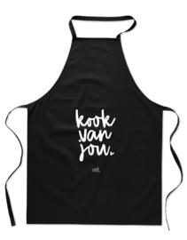 Keukenschort  Kook van jou  |  Zoedt