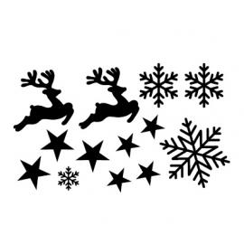 Verzamelvel Hert, Ster en Sneeuw