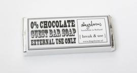 0% CHOCOLATE GUEST BAR SOAP  vanillie kokos