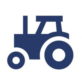 Muursticker Tractor