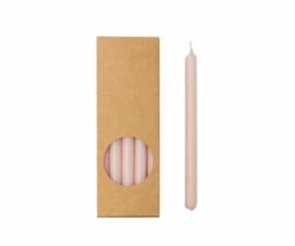 Dunne potloodkaarsjes | roze | 20 stuks