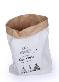 Paperbag XL, Let`s camp under the stars
