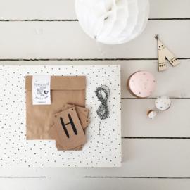 DIY Slinger mini kaartjes  |  Hello Little one  |  Miek in Vorm