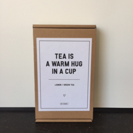Tea is a warm hug  |  Thee |  BY ROMI