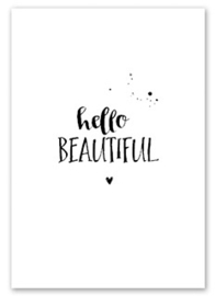 Kaart Hello Beautiful   | Jots