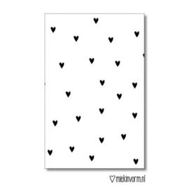 Mini kaartje Hartjes |  Miek in Vorm
