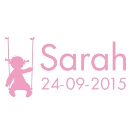 Geboortesticker Sarah