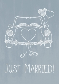 Kaart Just Married! | Jots
