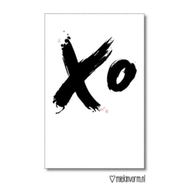 Mini kaart XO  |  Miek in Vorm