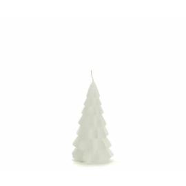 Kerstboom kaars xs | wit | Rustiklys