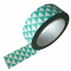 Masking Tape Grafisch Mint