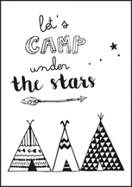 Kaart Let`s camp under the stars | Jots