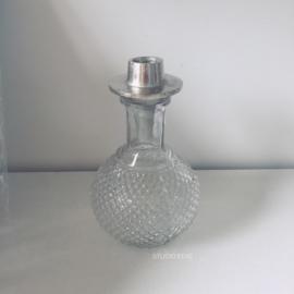 flessenstop met kaarsenhouder