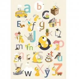 ABC Poster Olli & Jeujeu