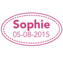 Geboortesticker Sophie