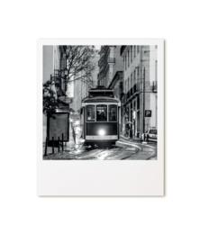 Polaroid kaart Tram  |  Zoedt