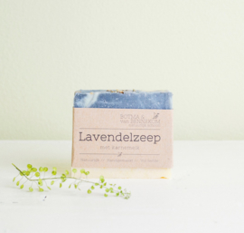 Lavendelzeep  100gr  |  Botma & van Bennekom
