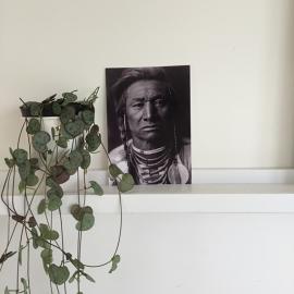 Kaart Indianen Opperhoofd | Zoedt