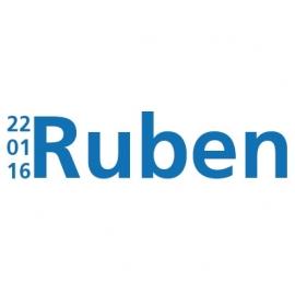 Geboortesticker Ruben