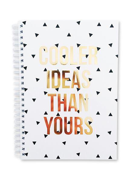 Notebook Cooler ideas     Studio Stationery