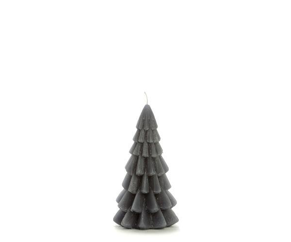 Kerstboom kaars xs   donker grijs   Rustik lys