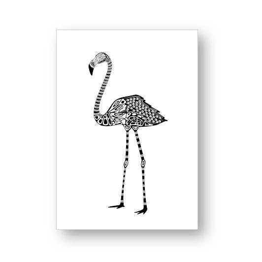 Kaart Flamingo   Jots