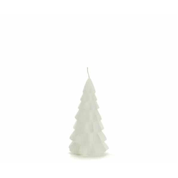 Kerstboom kaars xs | wit | Rustik lys
