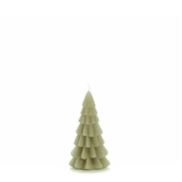 Kerstboom kaars xs | groen | Rustiklys