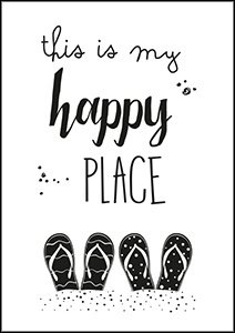 Kaart This is my happy place | Jots