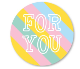 Sticker - for you