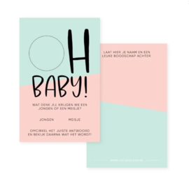 Oh Baby | Baby shower setje
