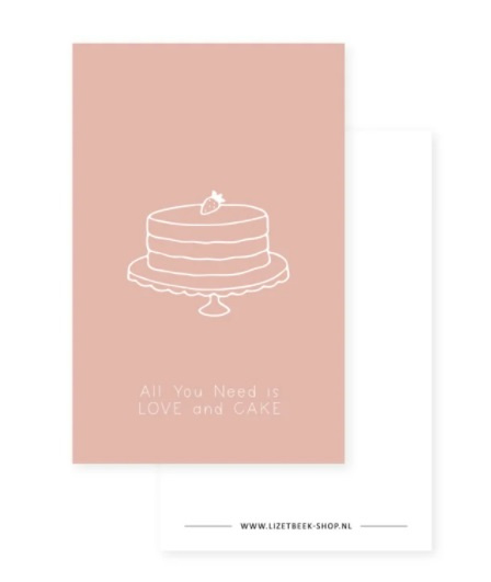 All you need is love and cake