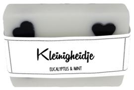 111 luxe zeep met hartjes 6x8 cm Eucalyptus & Mint Kleinigheidje v.e 3