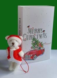 Cadeaudoosjes Kerst met Kerstbeertje 104