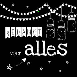 Cadeaulabels Mix - Nr. M110
