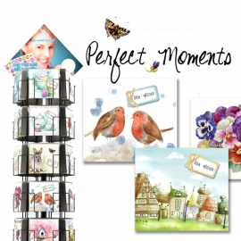 Perfect Moments 15x15 cm hele serie incl. display, topkaart, backcards