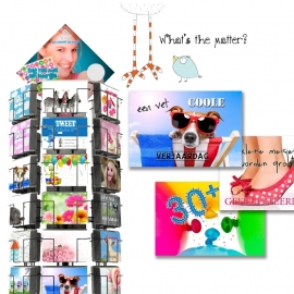 What`s the Matter hele serie incl. display, topkaart, backcards