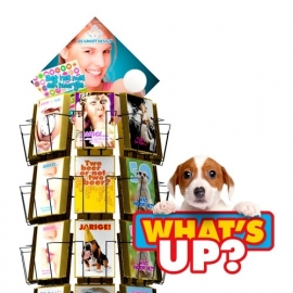 What`s Up hele serie incl. display, topkaart, backcards