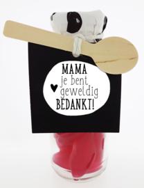 Snoepflesje 173 Mama je bent geweldig Bedankt! v.e. 3