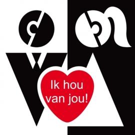 Valentijn 15x15 cm - Vak 123
