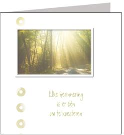 Condoleance & Troost 15x15 cm - Vak 135