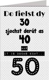 Friese kaarten Jillz/GH 11x17 - Vak 124