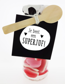 Snoepflesje 179 Je bent een Superjuf! v.e. 3