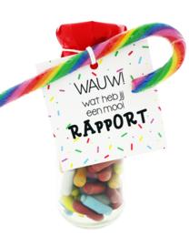 107 snoepflesje kinderen WAUW, wat heb jij een mooi rapport!